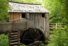 Free Old Water Mill Stock Photography - 5852002