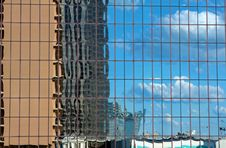 Free Buildings Reflecting In A Skyscraper Stock Photography - 5852042