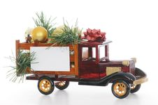 Holiday Truck Royalty Free Stock Image