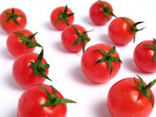Free Cherry Tomatoes Royalty Free Stock Photography - 5852347