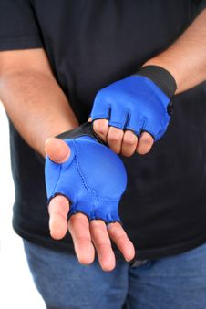 Free Weighted Gloves Stock Image - 5852791