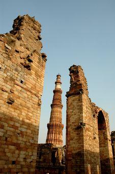 Free Monument Of Delhi-India. Stock Images - 5853264