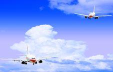 Free Airplane Royalty Free Stock Photos - 5853738