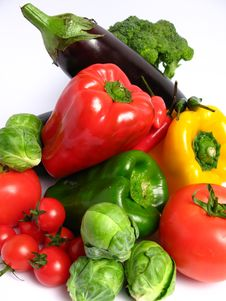 Free Vegetables Mix Royalty Free Stock Images - 5853969