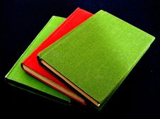 Free Red And Green Antique Books Stock Photography - 5854422