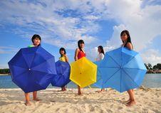 Free Fun At The Beach 55 Stock Image - 5854431