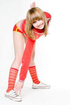 Free Gymnastic Exercise Stock Photography - 5855002