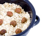 Free Bowl Of Oatmeal Royalty Free Stock Photo - 5855475