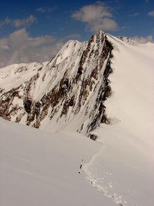 Free Winter Mountain Ridge In Romania Stock Photography - 5855582