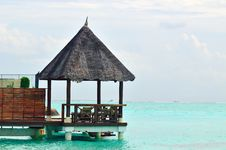 Free Maldives, Welcome To Paradise! Royalty Free Stock Images - 5855619