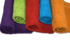 Free Towels Royalty Free Stock Photography - 5855777