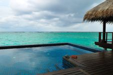 Free Maldives, Welcome To Paradise! Stock Photos - 5855933