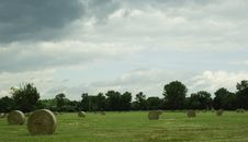 Free Hay Bails Stock Photography - 5856312