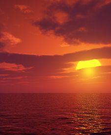 Free Beautiful Sunset Stock Photos - 5856443