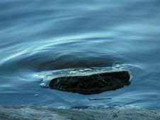 Free Rock Surrounded By Water Stock Images - 5856484