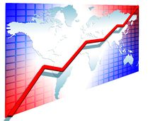 Free 3d Line Chart Royalty Free Stock Photo - 5856485