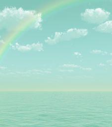 Free Beautiful Rainbow Stock Photos - 5856703