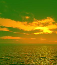 Free Beautiful Sunset Royalty Free Stock Images - 5856749