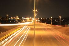 Free Long Exposure On Overpass Stock Photos - 5857833