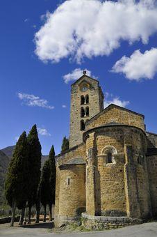 Church Of Saint Martin D Unac Stock Images
