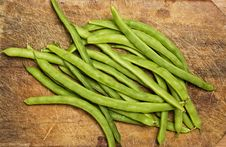 Free Green Beans. Stock Photography - 5858292