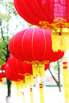 Free Red Chinese Lantern Stock Photography - 5858372