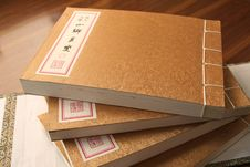 Old Chinese Style Book Royalty Free Stock Images