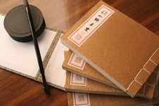 Old Chinese Style Book Royalty Free Stock Image