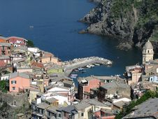 Free Italian Harbor Village Stock Image - 5858491
