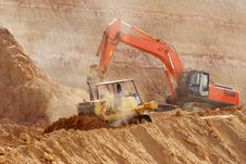 Free A Construction Site Under Preparation Royalty Free Stock Photography - 5858597