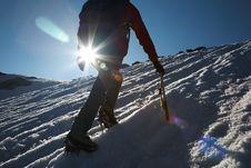 Free Climber Stock Photography - 5858762