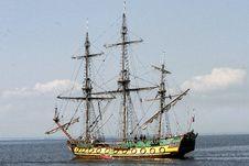 Free Retro Ship Royalty Free Stock Photography - 5859607