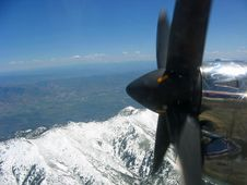 Free Mountains And Propeller Stock Images - 5859694