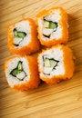 Free California Futomaki Sushi Royalty Free Stock Image - 5863226
