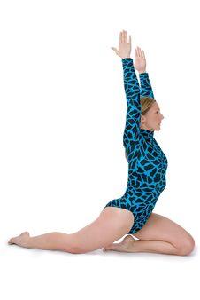Free Gymnast Kneeling Royalty Free Stock Images - 5860059
