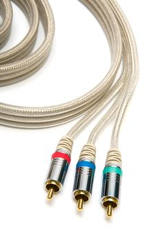 Free Component Video Cable Stock Photo - 5860230