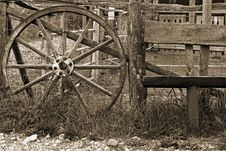 Free Old Wheel Stock Photography - 5860512
