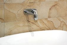 Free Marble Sink Detail Royalty Free Stock Photography - 5860807