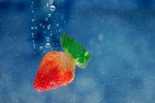 Free Strawberry Splash Stock Photo - 5861140
