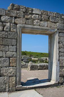 Free Ancient City Wall Royalty Free Stock Photos - 5863028