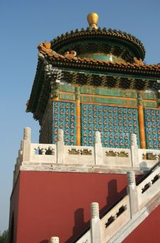 Free Traditional Chinese Architecture Royalty Free Stock Photography - 5863187