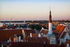 Free Tallinn, Estonia. Cityscape Royalty Free Stock Photos - 5863478