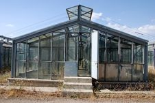 Old Greenhouse Stock Image