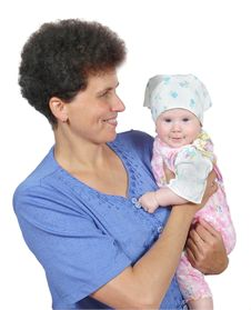 Free Portrait Of The Women And Child Stock Photos - 5864033