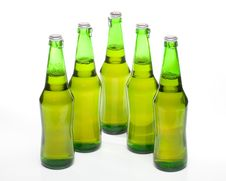 Free Beer In A Bottle Royalty Free Stock Photos - 5864158