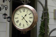 Free Clock Royalty Free Stock Photography - 5864257