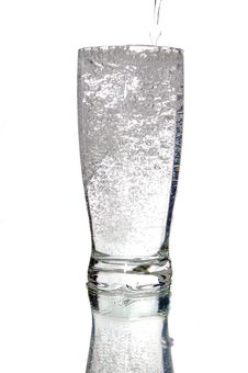 Free Glass Of Mineral Water Royalty Free Stock Photography - 5864347