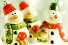 Free Snowmen Stock Images - 5864744