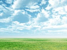 Free Spring Scenery Royalty Free Stock Photography - 5864997