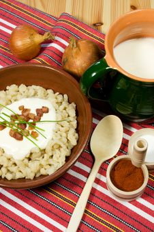 Free Traditional Slovak Food Royalty Free Stock Photos - 5865378